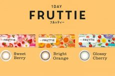 【Package】メニコン FRUTTIE  1 day カラーコンタクト